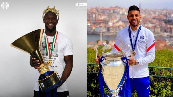 Transfer Inter Milan - Romelu Lukaku Bertahan, Inter Milan Incar Emerson
