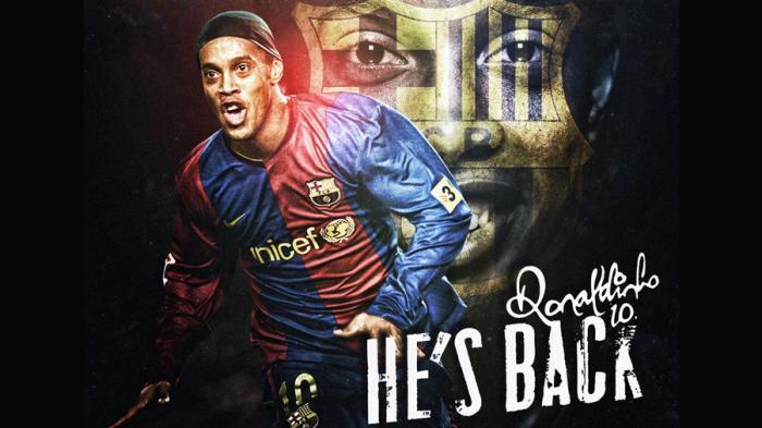 Barcelona Kembali Rekrut Ronaldinho