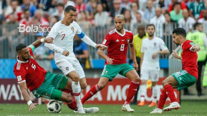 Wasit Portugal vs Maroko Dituduh Minta Jersey Cristiano Ronaldo, FIFA Langsung Bertindak