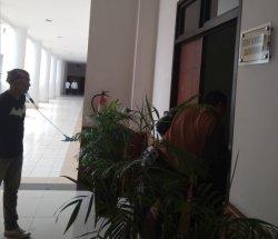 Isi Ruang Kerja Staf Khusus Gubernur Kepri Hanya Diisi Dua Pegawai Wanita