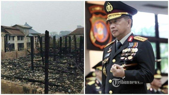 Rumah Orangtua Kapolri Tito Karnavian Terbakar,Andi Berusaha Tolong Warga Lain yang Jadi Korban