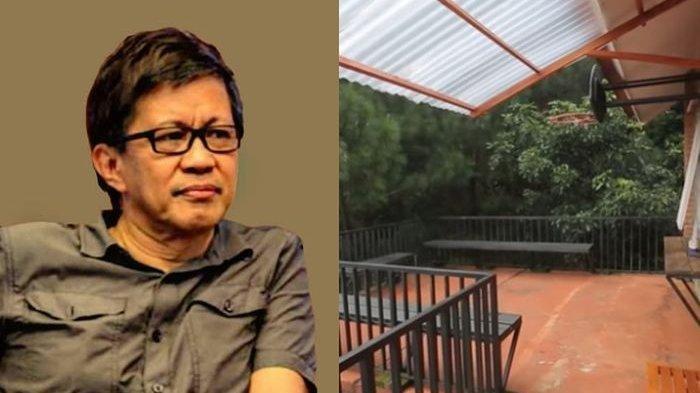 Getol Kritik Pemerintah Rumah Rocky Gerung Terselip Barang Aneh Dan Unik Ini Di Sudut Rumah Tribun Batam