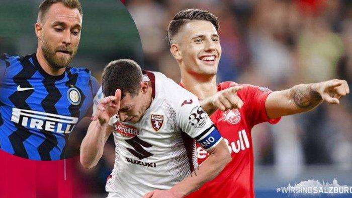 Profil 7 Pemain Incaran AC Milan, Christian Eriksen, Dominik Szoboszlai Hingga Andrea Belotti,