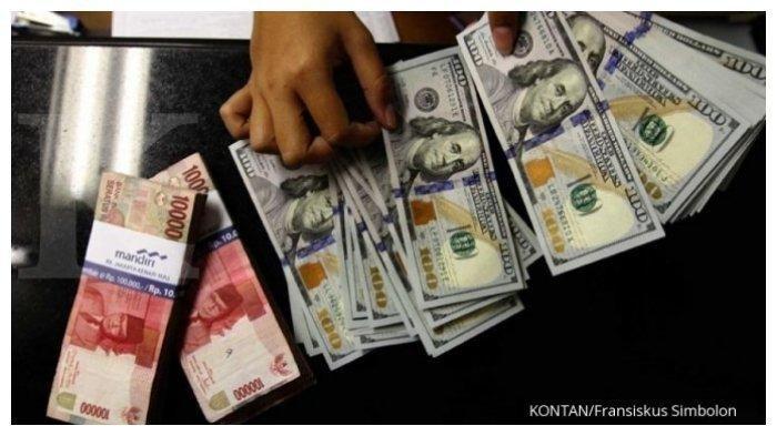 RUPIAH HARI INI - DItutup Naik 0,67%, Rupiah di Level Rp 14.735 per dolar AS