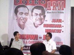 Saat menjadi tim pemenangan Jokowi-JK di Pilpres 2020