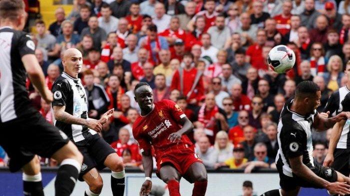 Hasil Liga Inggris - Sadio Mane Brace, Liverpool Bungkam Newcastle United 3-1
