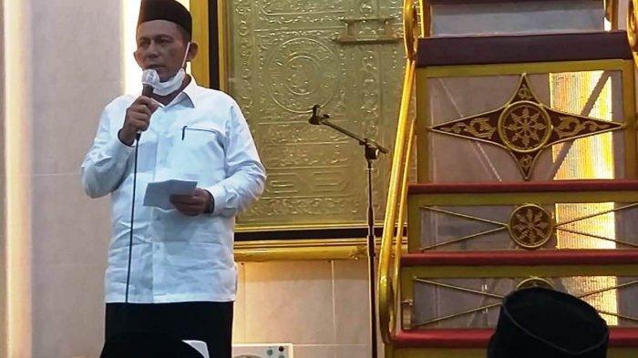 Safari Ramadhan Gubernur Kepri Ansar Ahmad di Kabupaten Lingga.