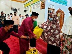 Safari Ramadhan Bupati Wakil Bupati Anambas di Kecamatan Palmatak, Selasa (27/4/2021).