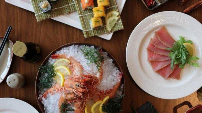 Sajian Buffet Seafood di Marriot Batam Hotel, Bisa Nikmati Kelezatan Bersama Keluarga Anda