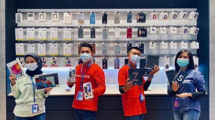 Diserbu Pengunjung! Toko Samsung Exclusive Store di Grand Batam Mall Beri Promo yang Bikin Menggoda