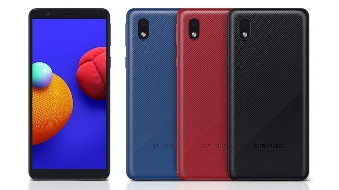 Harga HP Samsung Terbaru Januari 2021, Galaxy A01 Core Dibandrol Rp 999 Ribu