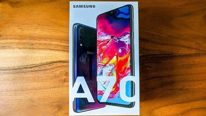 Harga HP Terbaru Samsung di November 2019, Samsung Galaxy A70 Rp 5,5 jutaan