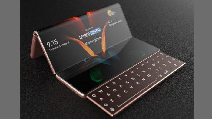 Keren, Samsung Hadirkan Konsep Smartphone dengan Layar Lipat 3 dan Bisa Digulung