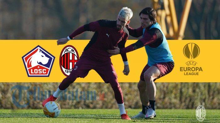 Lille vs AC Milan Live SCTV 00.55 WIB, Samu Castillejo Usung Misi Balas Dendam: Kami Ingin Menang
