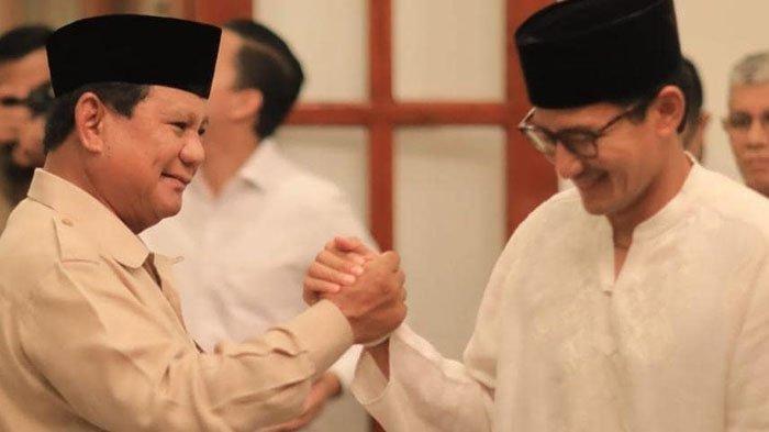 Jelang Putusan MK 27 Juni 2019, Sandiaga Uno Ketemu Zulkifli Hasan Tanpa Amien Rais, Dimana Prabowo?