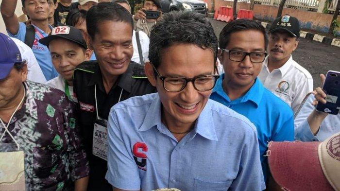 Ini ResponsSandiaga, Sikapi Kasus Pria Ancam Penggal Kepala Jokowi,
