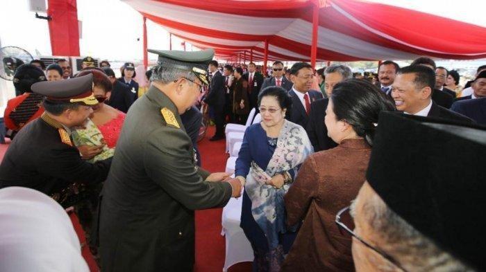 Tak Salami Surya Paloh,Megawati Makin Akrabdengan SBY,Terlihatdi HUT TNI