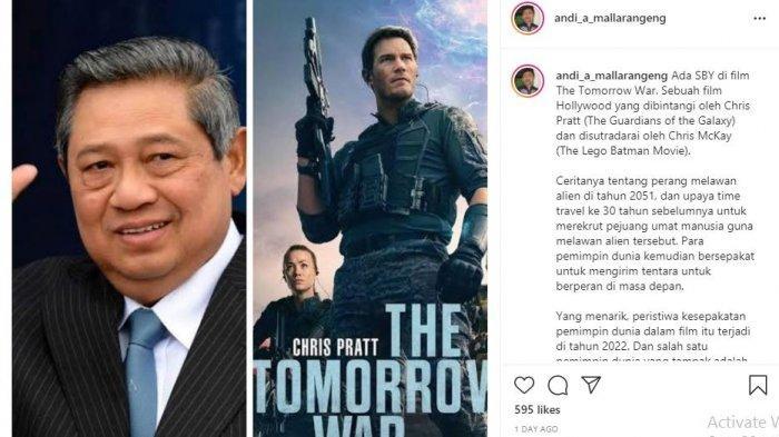 SBY Main Film Hollywood, The Tomorrow War Bersama Chris Pratt, Jadi Perwakilan Negara Asia