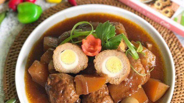 Resep Bola Daging Kecap Telur Puyuh, Manis Gurih Disantap dengan Nasi Hangat