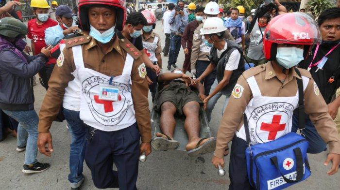Hari Paling Berdarah Myanmar! Aparat Mengganas Tembaki Warga, Belasan Mayat Jatuh