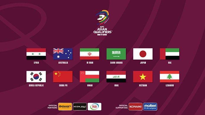 Klasemen Akhir Kualifikasi Piala Dunia 2022, 12 Tim Lolos ke Putaran Ketiga, Vietnam Catat Sejarah