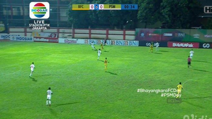 SEDANG BERLANGSUNG! Live Streaming Bhayangkara FC vs PSM Makassar di Liga 1 2018. Mulai 18.30 WIB