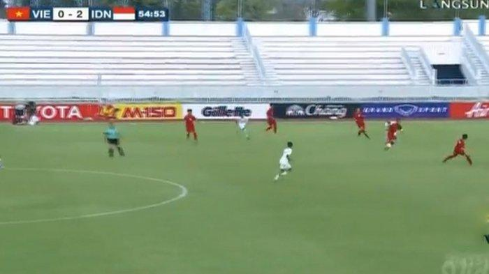 Hasil Akhir Indonesia vs Vietnam Piala AFF U15 2019, Amankan Tiga Poin, Garuda Asia Menang 2-0