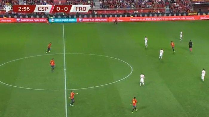 SEDANG BERLANGSUNG Live Streaming Spanyol vs Kepulauan Faroe Kualifikasi EURO 2020 Malam Ini