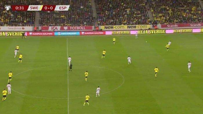 SEDANG BERLANGSUNG Live Streaming Swedia vs Spanyol Kualifikasi Euro 2020 Malam Ini