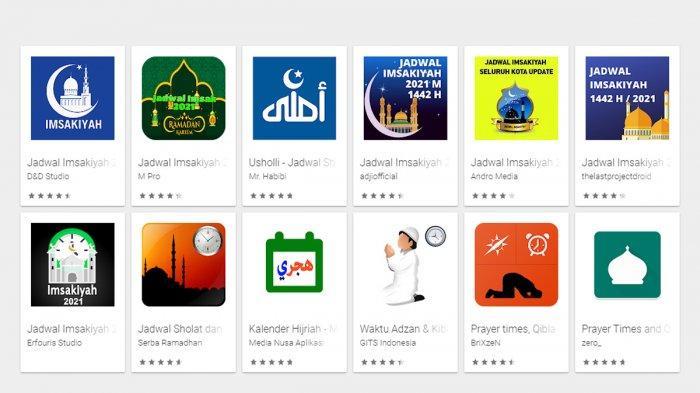 Aplikasi Untuk Lihat Jadwal Puasa Ramadhan 1442/2021 di Perangkat Android dan iOS