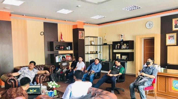 Perwakilan OKP Temui Sekda Anambas, Bahas Rencana Pembangunan Gedung Pemuda