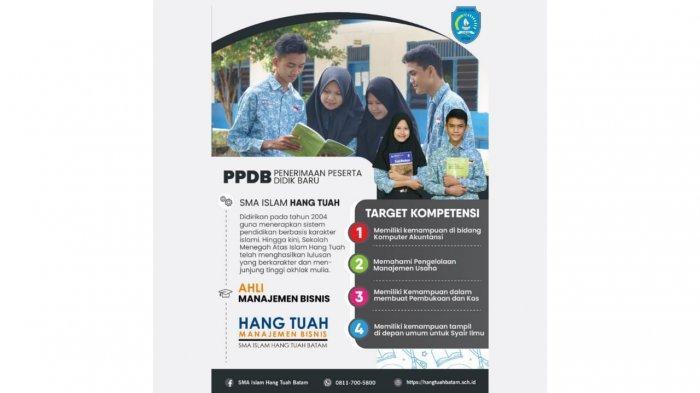 target kompetensi SMA Islam Hang Tuah