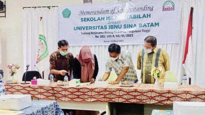 Sekolah Islam Nabilah Batam Masuk Program Dinas Lingkungan