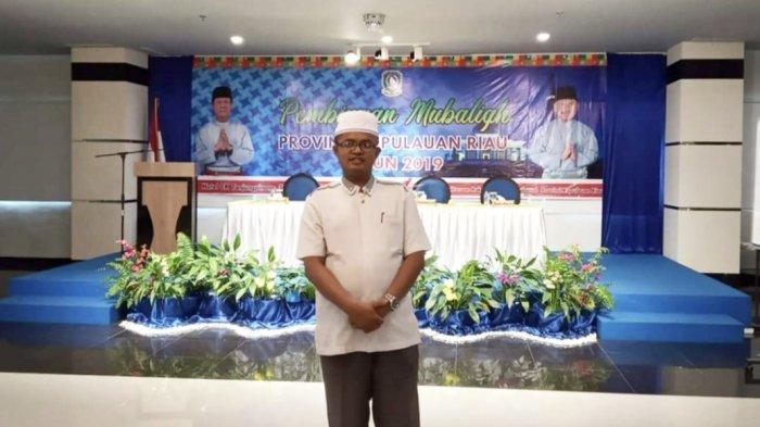 Sekretaris MUI Kabupaten Lingga, Ustadz Ilhamuddin, SHI.