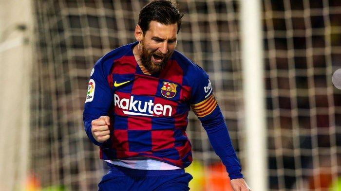 Hasil Liga Spanyol Barcelona vs Real Sociedad, Gol Penalti Lionel Messi Menangkan Barca
