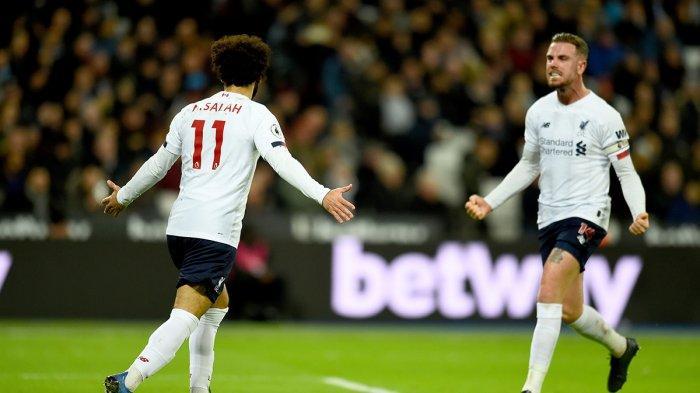 Hasil Liga Inggris West Ham vs Liverpool, Menang Lagi, Liverpool Kalahkan Semua Klub Premier League