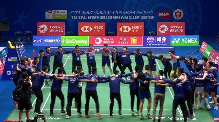 SUDIRMAN CUP 2019 - Kento Momota Tumbang, Jepang Kalah 0-3, China Juara Piala Sudirman 2019