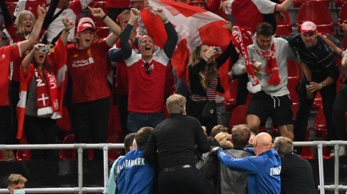 Drama Denmark di Piala Eropa 2020: Insiden Eriksen Kolaps, 2 Kali Kalah, Lolos ke Babak 16 Besar