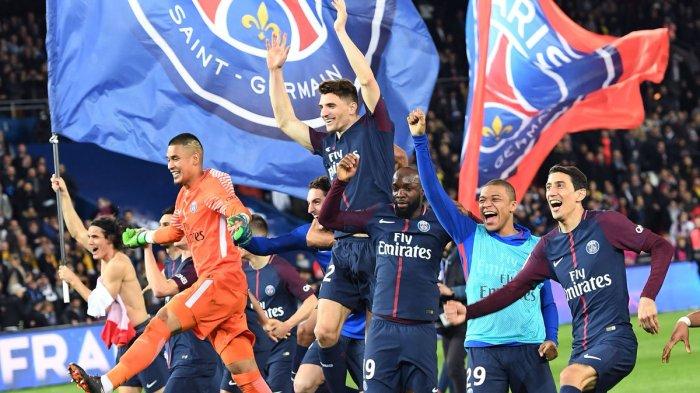 LUAR BIASA! PSG Kunci Gelar Juara Liga Perancis Lewat Pesta 7 Gol ke Gawang AS Monaco