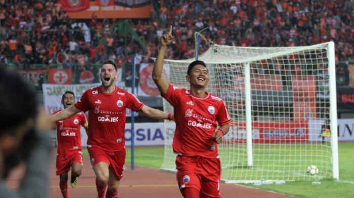 Hasil Persija vs Borneo FC Piala Presiden 2019 - Macan Kemayoran Unggul 3-0 di Babak Pertama