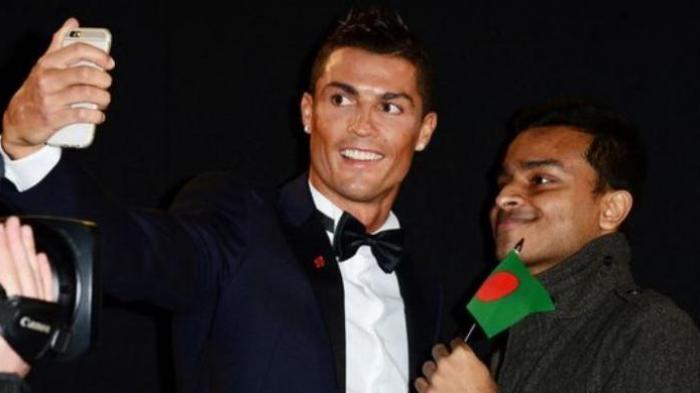 Mau Selfie dengan Christiano Ronaldo? Ini Caranya