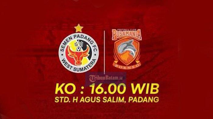 Live Streaming Semen Padang vs Borneo FC, Laga Terakhir Kabau Sirah di Padang di Liga 1
