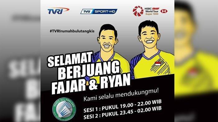 LIVE TVRI Semifinal All England 2019 Pukul 17.00, Tiga Wakil Indonesia Tanding