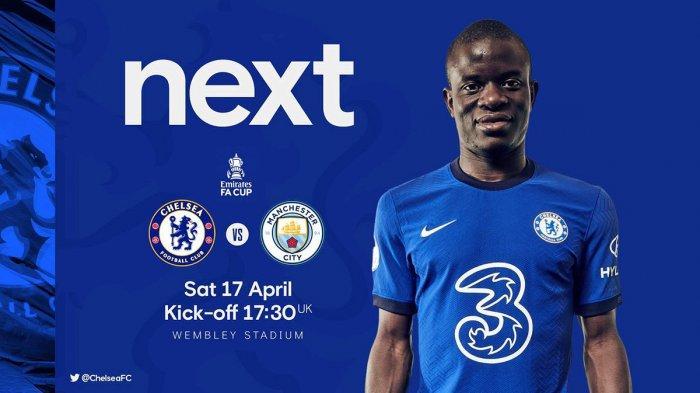 Jadwal Semifinal Piala FA Live RCTI Sabtu: Chelsea vs Man City, Minggu: Leicester vs Southampton
