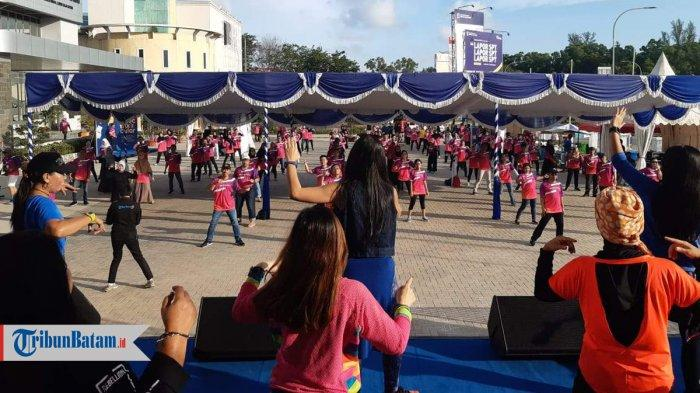 Spectaxcular 2020 Kanwil Dirjen Pajak Kepri di Batam, Dibuka dengan Senam Zumba