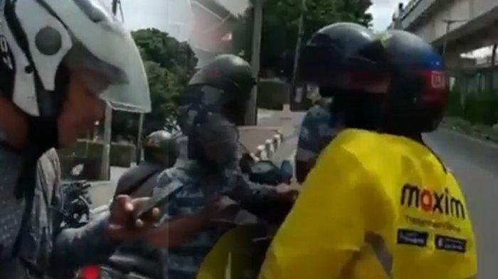 Viral VIDEO Motor Driver Ojol Mau Dirampas di Tengah Jalan, Aksi Penumpang Menggagalkannya Dipuji