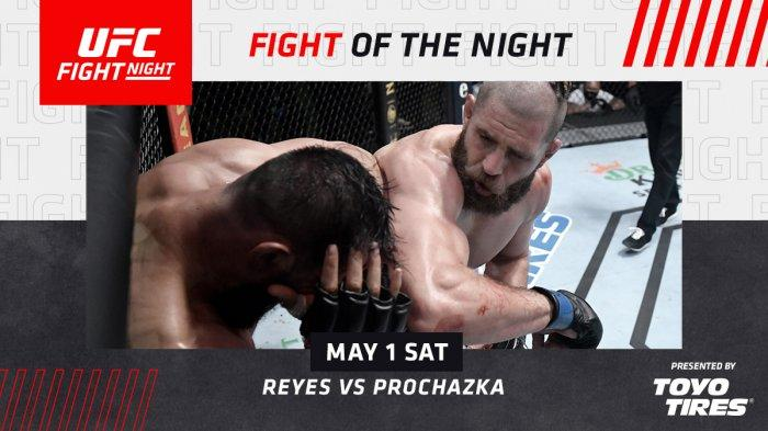 Hasil Lengkap UFC Vegas 25, Serangan Siku Jiri Prochazka Bikin Dominick Reyes Kalah KO