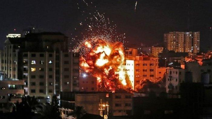 Serangan Udara Israel di Jalur Gaza, 9 Warga Palestina Dilaporkan Meningga Dunia