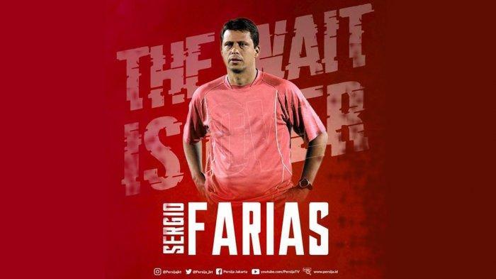 Transfer Liga 1 2020 - Profil dan Rekam Jejak Sergio Farias Pelatih Baru Persija Jakarta