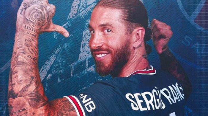 Sergio Ramos resmi pindah ke PSG setelah kontrak di Real Madrid berakhir pada Juni 2021